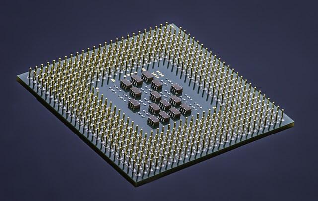 Microprocessor geïntegreerde schakeling