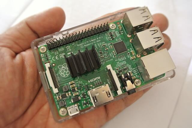 Raspberry pi microcontroller